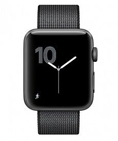 Apple Watch Series 2 42 mm with Woven Nylon Black