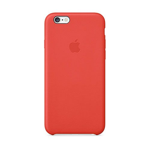 чехол Apple iPhone 7 Leather Case (RED)
