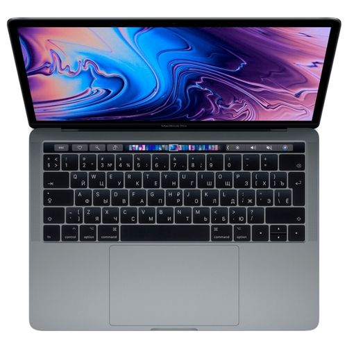 Apple MacBook Pro 13 256Gb with Touch Bar Серый космос Mid 2019 (MUHP2RU/A)
