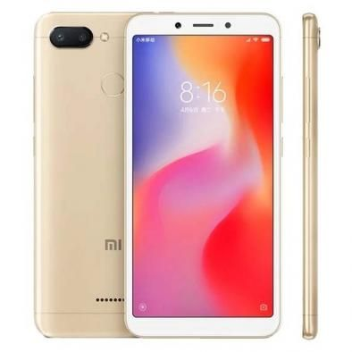 Смартфон Xiaomi Redmi 6 3/32GB Золотой