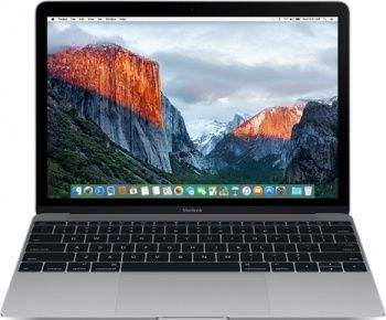 Ноутбук Apple MacBook 12 256GB MLH72 (Серый Космос)