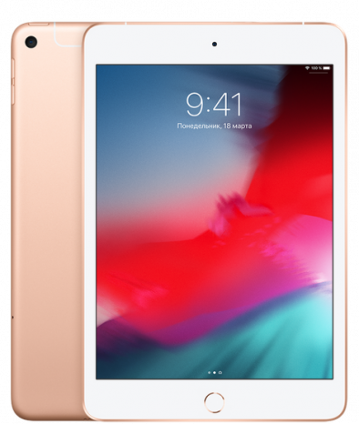 Планшет Apple iPad mini (2019) 64Gb Wi-Fi + Cellular Gold
