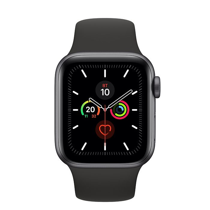 Часы Apple Watch Series 5 40 mm Space Gray Aluminum Case with Sport Band