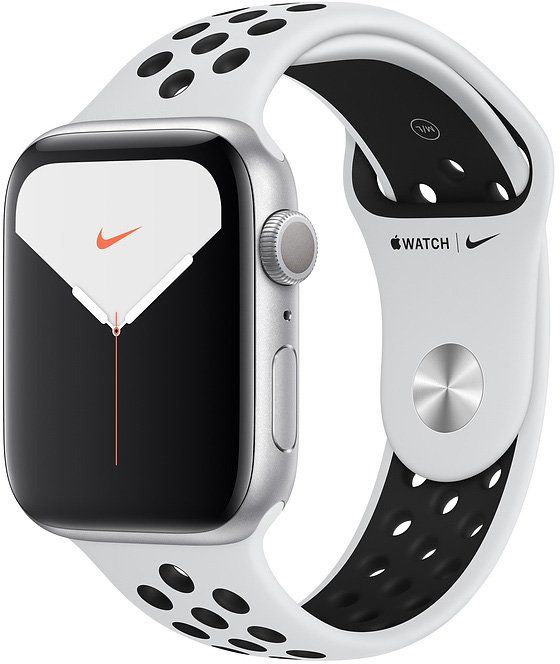 Часы Apple Watch Nike Series 5 44 mm Silver Aluminum Case with Sport Band