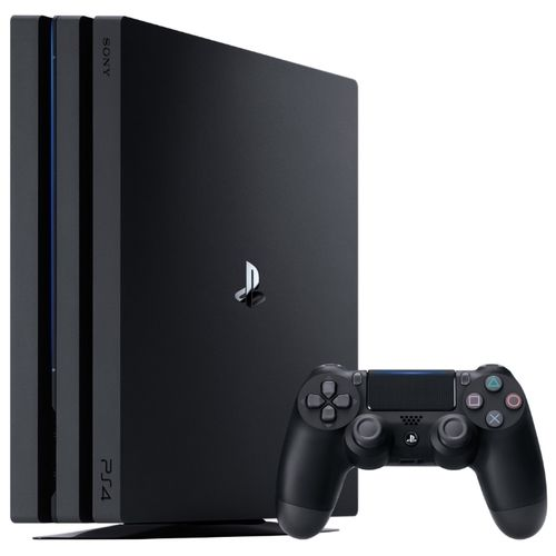 Приставка Sony PlayStation 4 Pro 1Tb Black + Fortnite