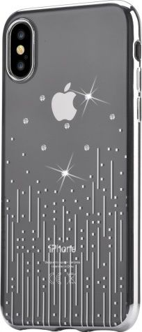 Чехол для iPhone X Devia Crystal Meteor Soft Case ( Silver )