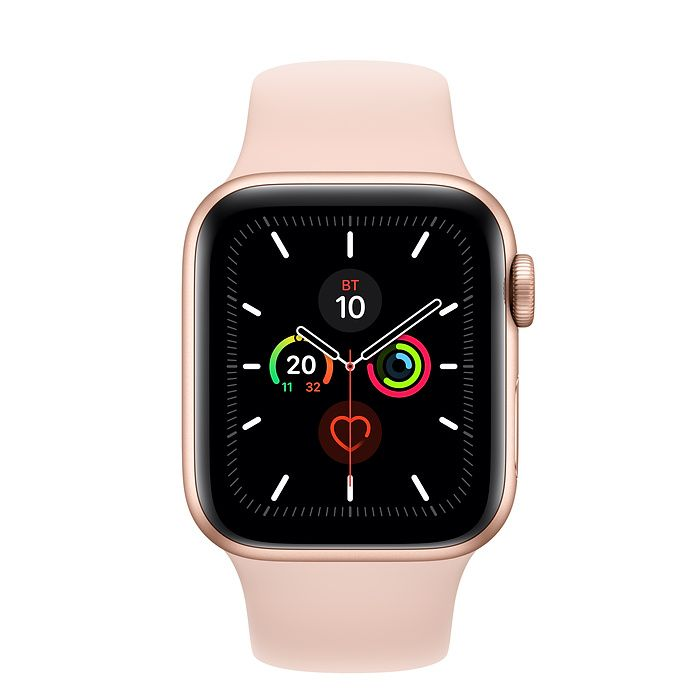 Часы Apple Watch Series 5 40 mm Gold Aluminum Case with Sport Band