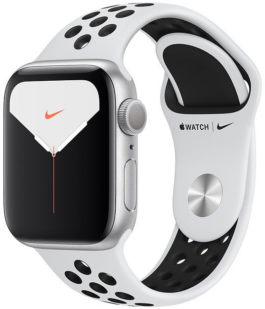 Часы Apple Watch Nike Series 5 40 mm Silver Aluminum Case with Sport Band