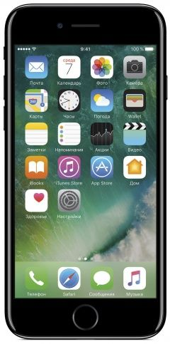 Смартфон Apple iPhone 7 32GB (черный оникс)