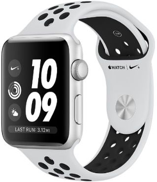 Apple Watch Series 3 Nike + 38 mm Pure Platinum/Black