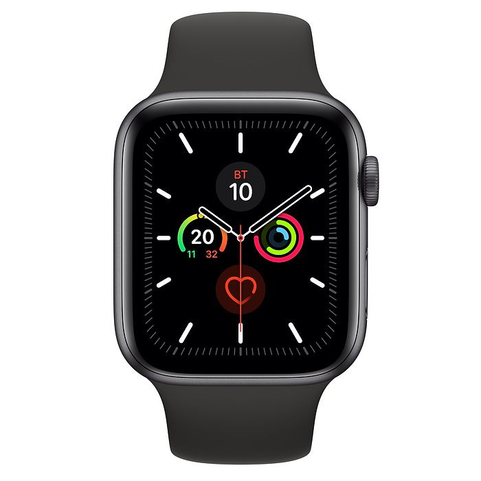 Часы Apple Watch Series 5 44 mm Space Gray Aluminum Case with Sport Band
