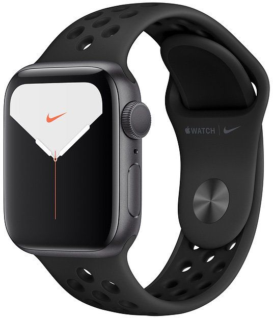 Часы Apple Watch Nike Series 5 44 mm Space Gray Aluminum Case with Sport Band