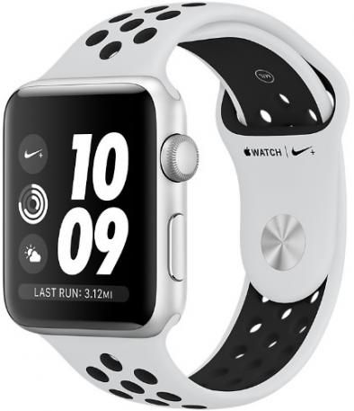 Apple Watch Series 3 Nike + 42 mm Pure Platinum/Black