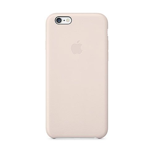 Apple iPhone 6 Leather Case (Soft Pink)