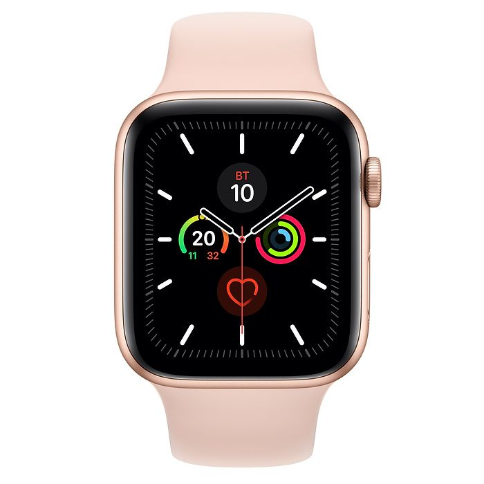 Часы Apple Watch Series 5 44 mm Gold Aluminum Case with Sport Band