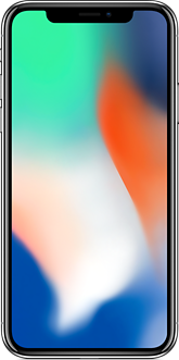 Смартфон Apple iPhone X 64 Gb Серебристый