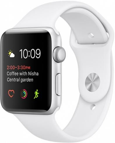 Apple Watch series 1 42 White (MNNL2)